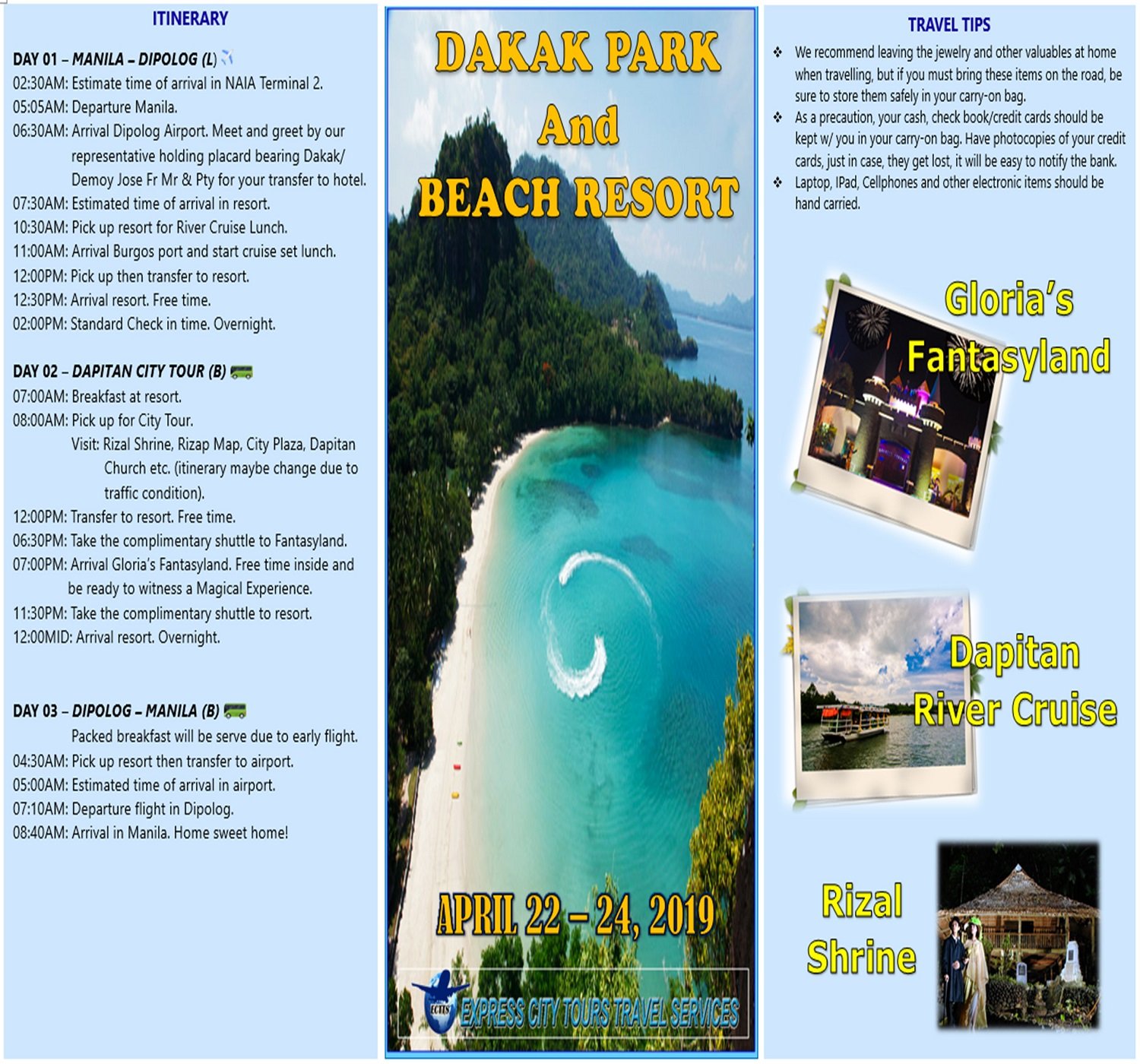 Dakak Park and Beach Resort 2019