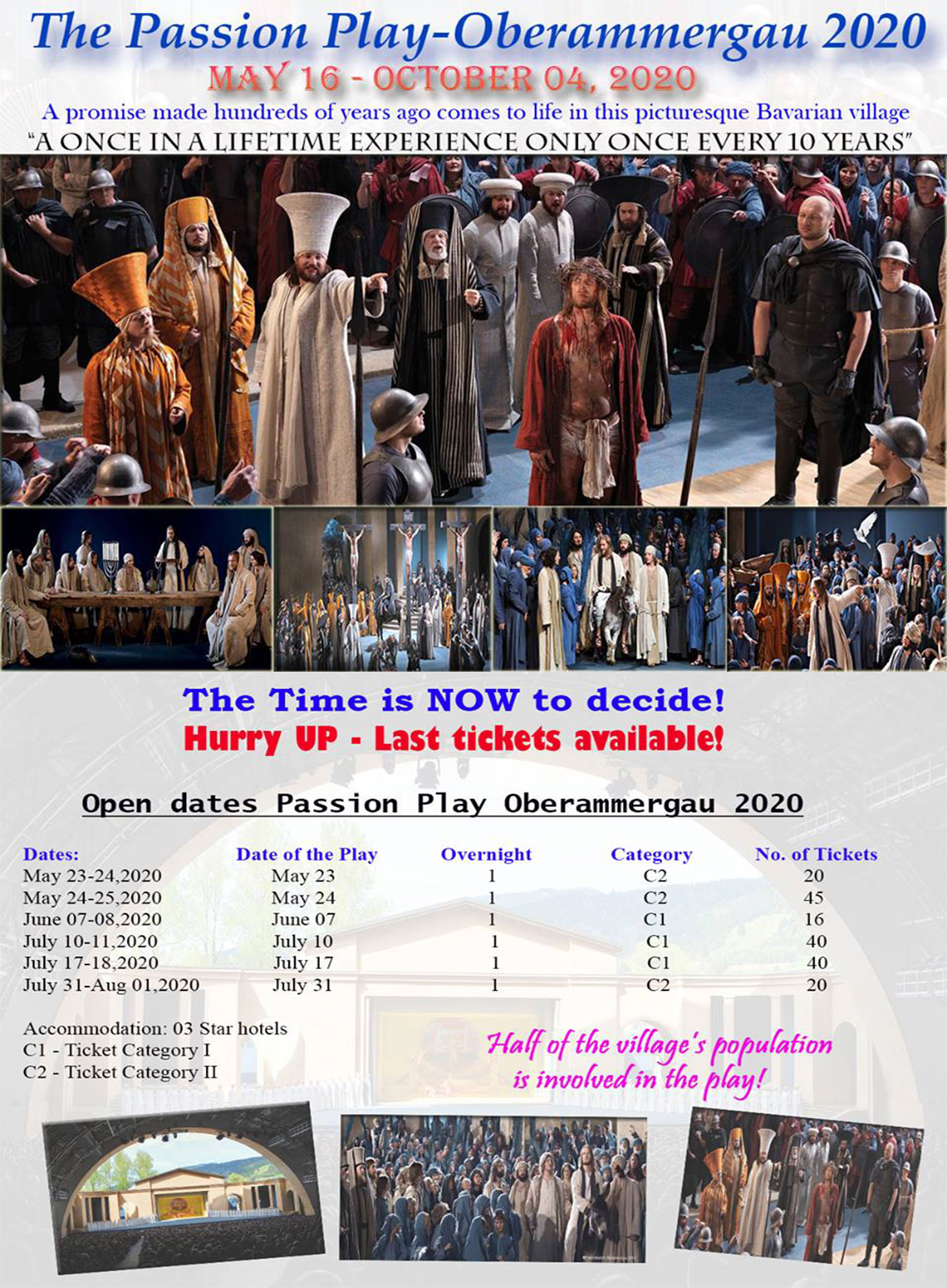 The Passion Play – Oberammergau 2020